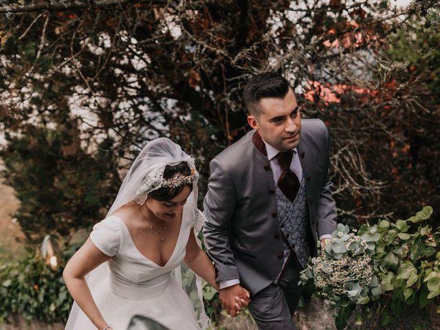 La boda de David y Sara en Serra De Outes, A Coruña 155