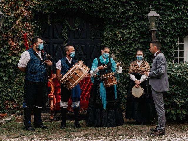 La boda de David y Sara en Serra De Outes, A Coruña 159