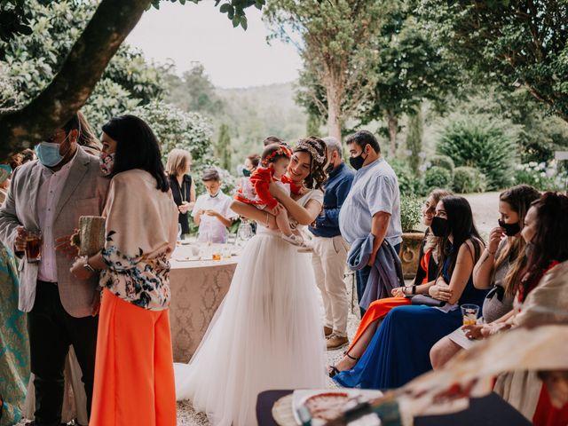 La boda de David y Sara en Serra De Outes, A Coruña 160