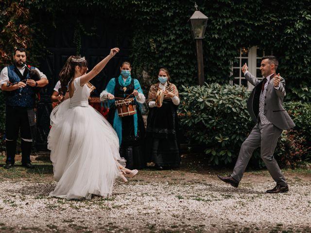 La boda de David y Sara en Serra De Outes, A Coruña 162