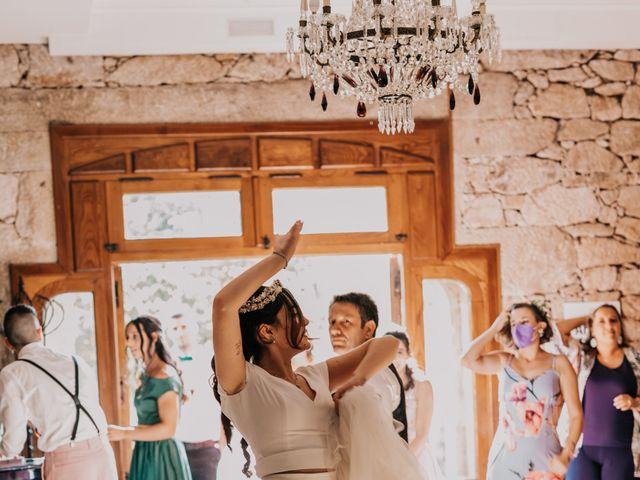La boda de David y Sara en Serra De Outes, A Coruña 206