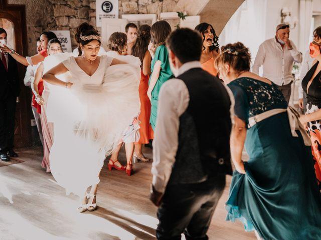 La boda de David y Sara en Serra De Outes, A Coruña 207