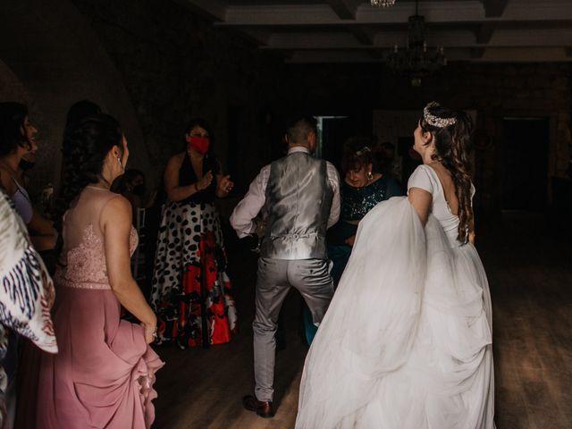 La boda de David y Sara en Serra De Outes, A Coruña 208