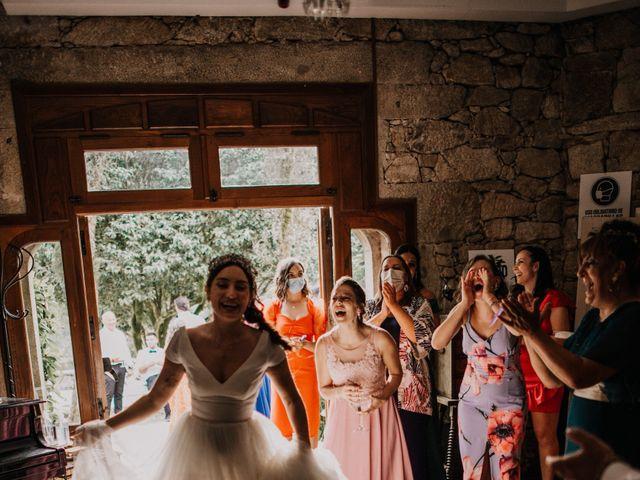 La boda de David y Sara en Serra De Outes, A Coruña 209
