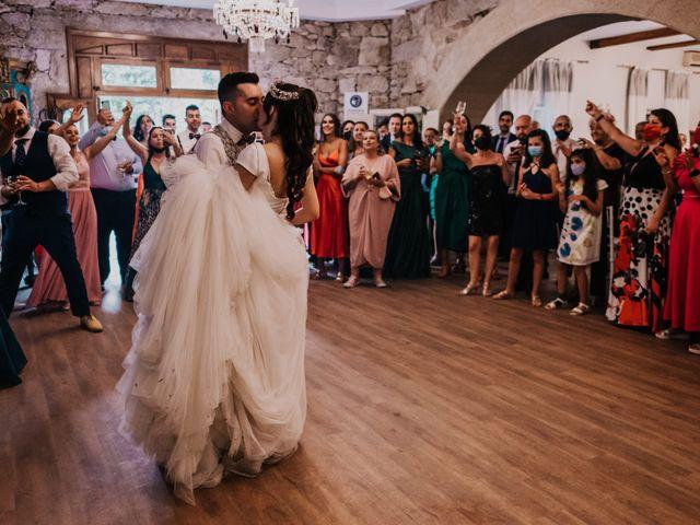 La boda de David y Sara en Serra De Outes, A Coruña 220