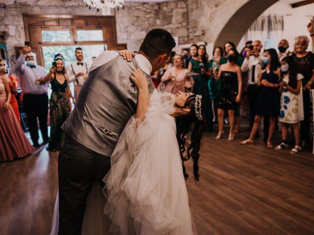 La boda de David y Sara en Serra De Outes, A Coruña 221