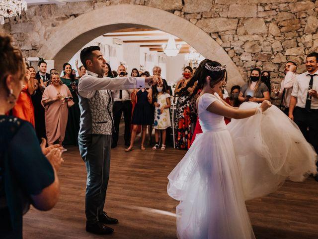 La boda de David y Sara en Serra De Outes, A Coruña 223