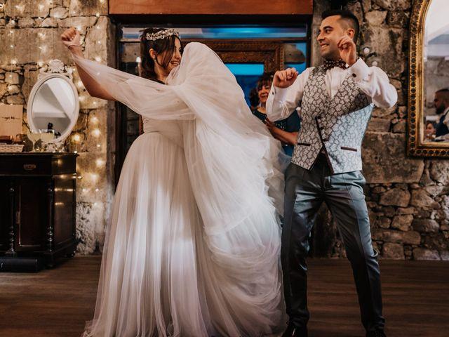 La boda de David y Sara en Serra De Outes, A Coruña 224