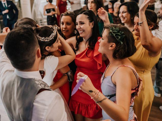 La boda de David y Sara en Serra De Outes, A Coruña 229
