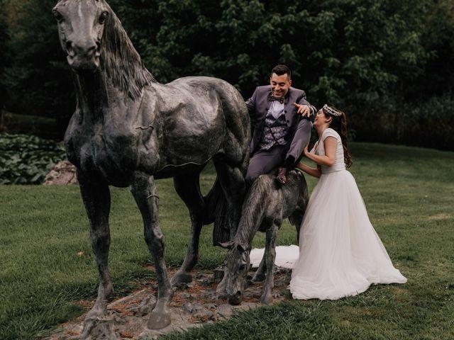 La boda de David y Sara en Serra De Outes, A Coruña 235