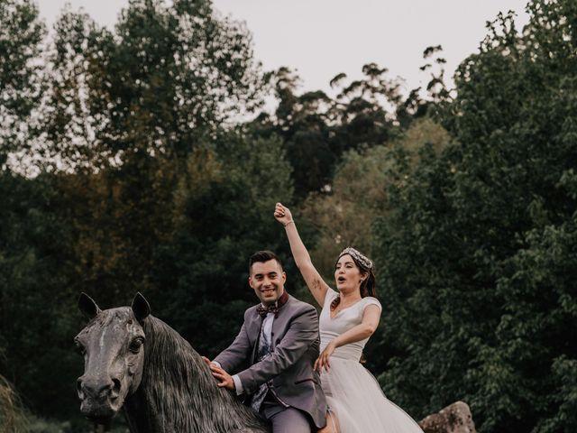 La boda de David y Sara en Serra De Outes, A Coruña 236