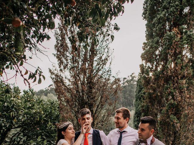 La boda de David y Sara en Serra De Outes, A Coruña 241