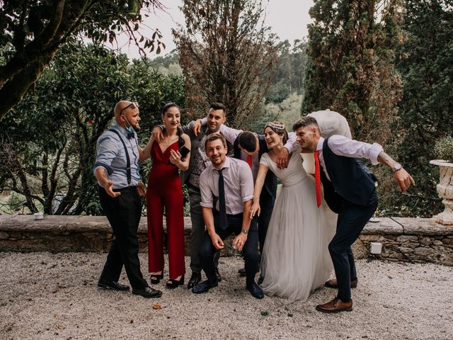 La boda de David y Sara en Serra De Outes, A Coruña 243