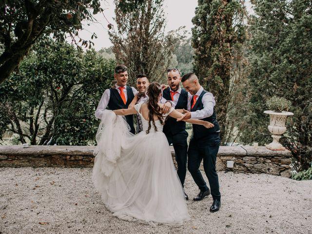 La boda de David y Sara en Serra De Outes, A Coruña 245