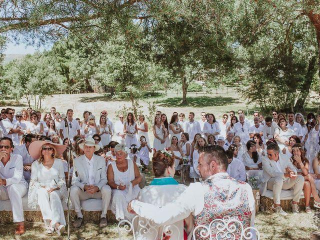 La boda de David y Nieves en Rascafria, Madrid 15
