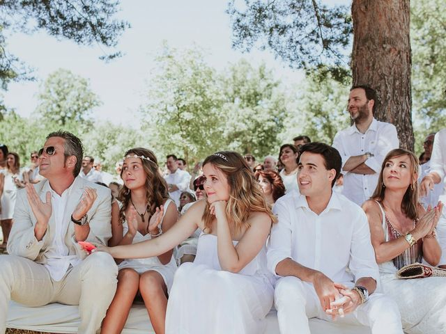 La boda de David y Nieves en Rascafria, Madrid 17