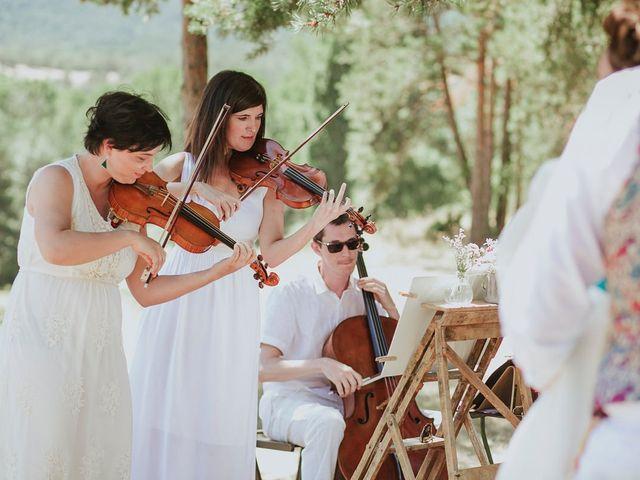La boda de David y Nieves en Rascafria, Madrid 18