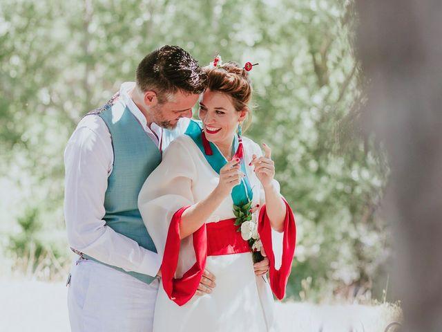 La boda de David y Nieves en Rascafria, Madrid 19
