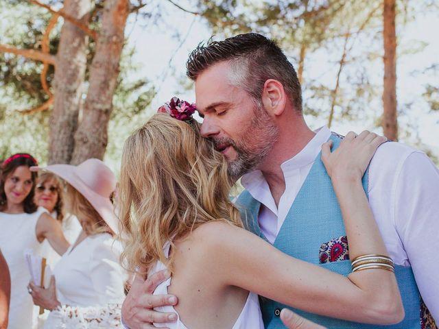La boda de David y Nieves en Rascafria, Madrid 21