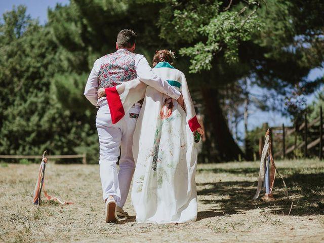 La boda de David y Nieves en Rascafria, Madrid 24