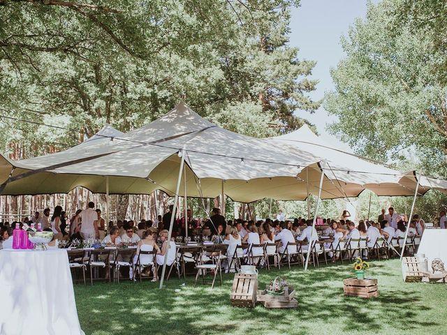 La boda de David y Nieves en Rascafria, Madrid 29