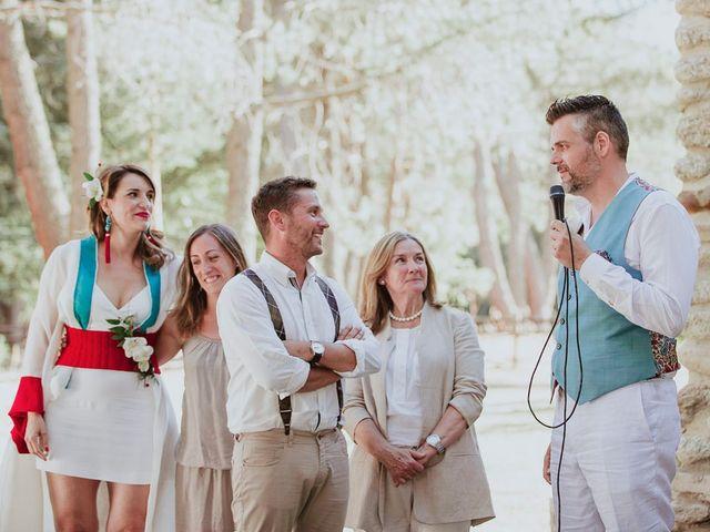 La boda de David y Nieves en Rascafria, Madrid 36