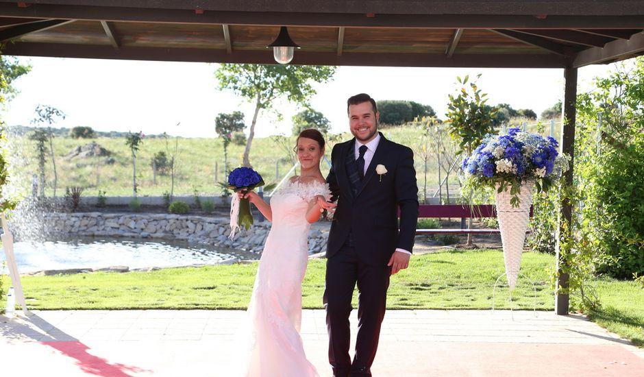 La boda de Alvaro y Sandra en Mozarbez, Salamanca