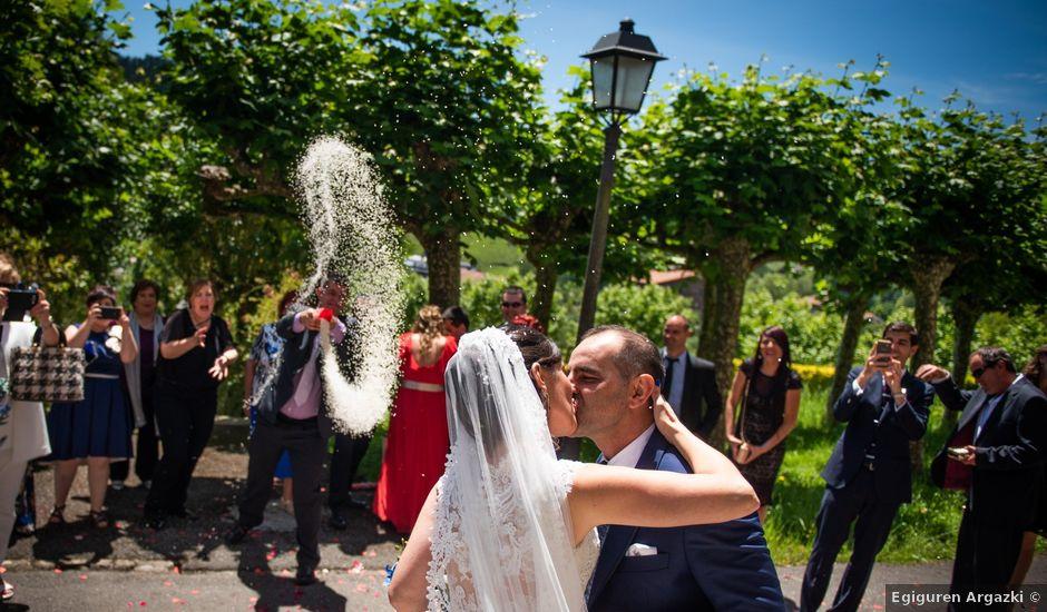 La boda de Jon y Alazne en Azpeitia, Guipúzcoa