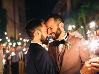 La boda de Xavi y Lucas