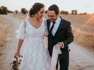 La boda de Aurora y Ángel