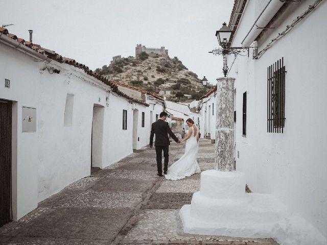 La boda de David y Almudena en Burguillos Del Cerro, Badajoz 6