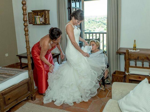 La boda de Fernando y Andrea en Siguenza, Guadalajara 20