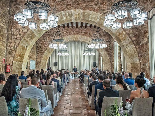 La boda de Fernando y Andrea en Siguenza, Guadalajara 44