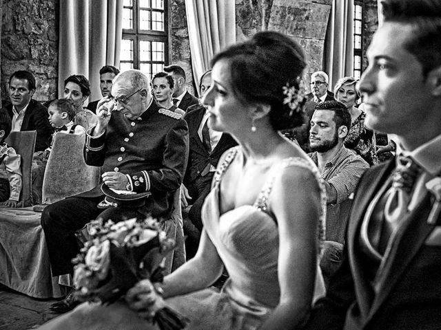 La boda de Fernando y Andrea en Siguenza, Guadalajara 48