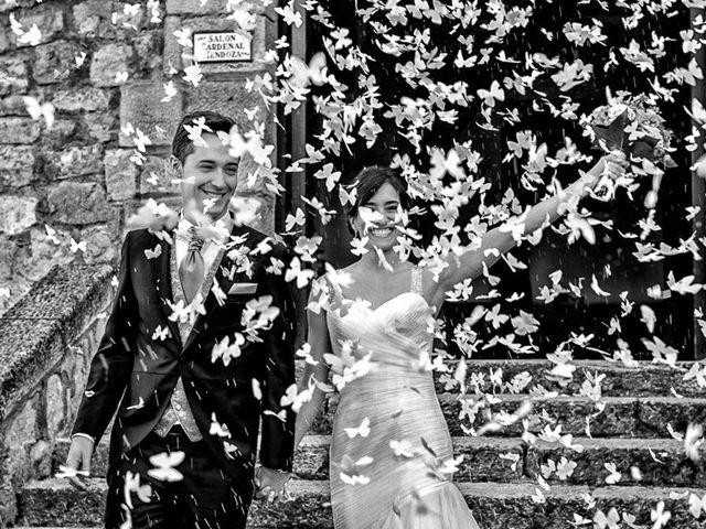La boda de Fernando y Andrea en Siguenza, Guadalajara 61
