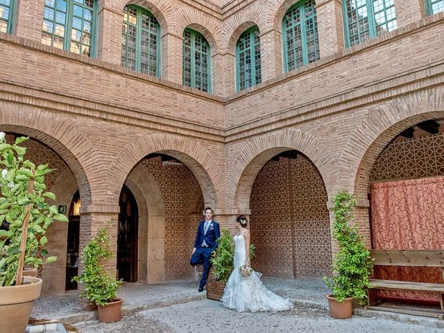 La boda de Fernando y Andrea en Siguenza, Guadalajara 64