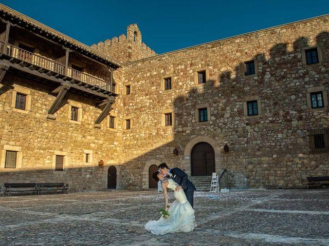 La boda de Fernando y Andrea en Siguenza, Guadalajara 2
