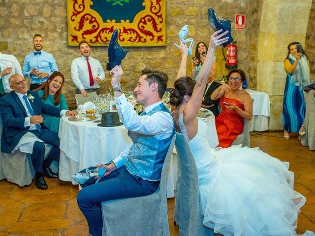 La boda de Fernando y Andrea en Siguenza, Guadalajara 88