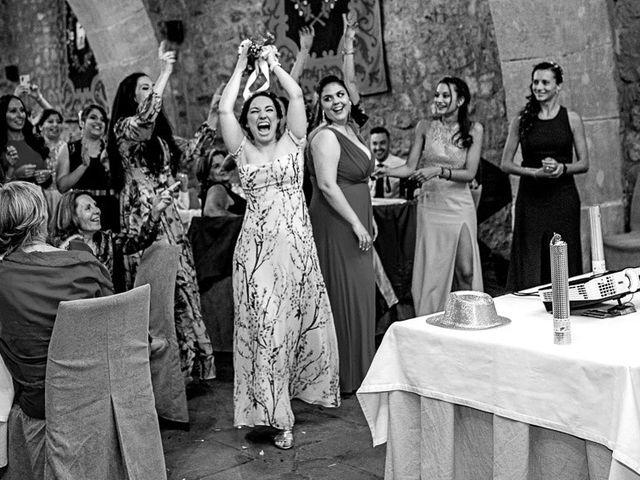 La boda de Fernando y Andrea en Siguenza, Guadalajara 90