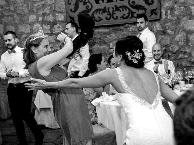 La boda de Fernando y Andrea en Siguenza, Guadalajara 94
