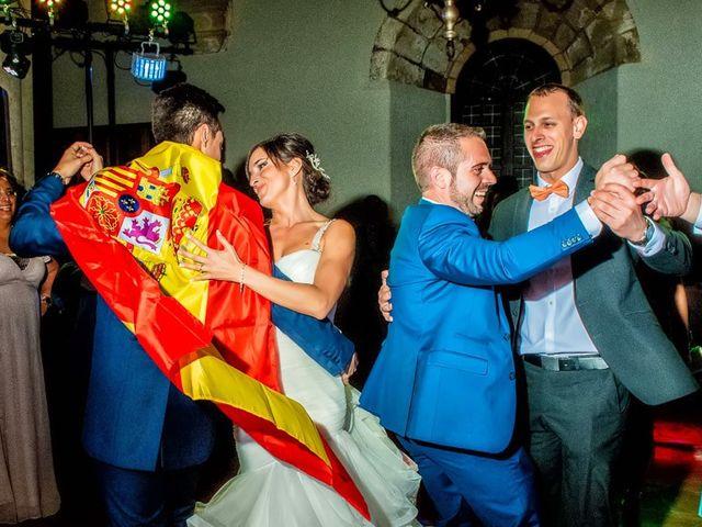 La boda de Fernando y Andrea en Siguenza, Guadalajara 100