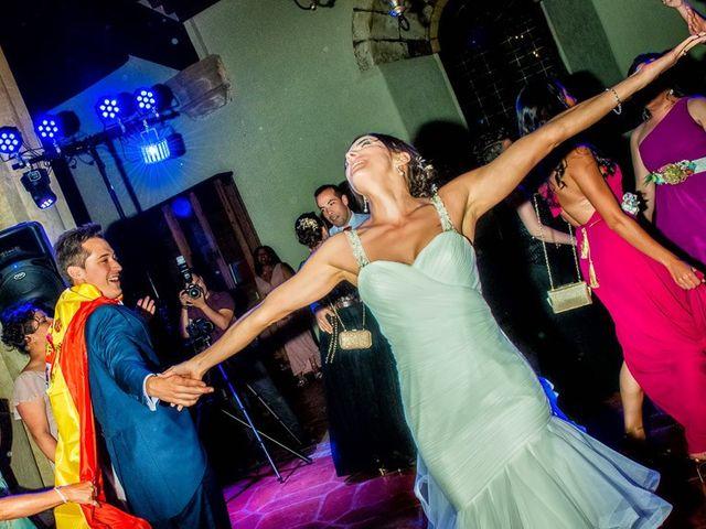 La boda de Fernando y Andrea en Siguenza, Guadalajara 102