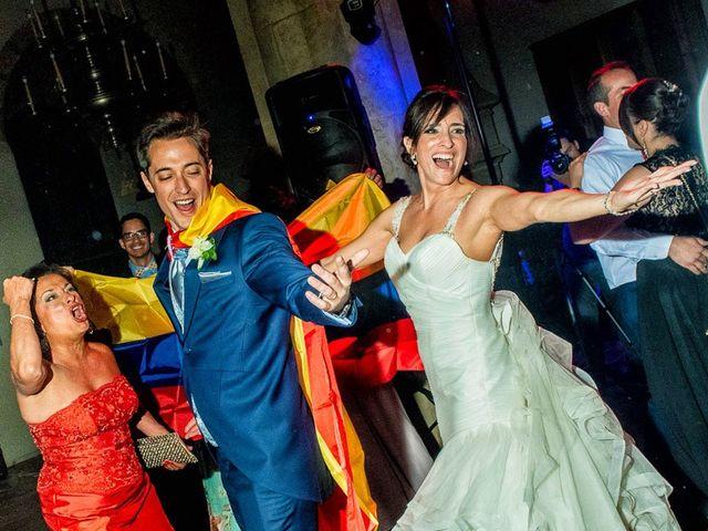 La boda de Fernando y Andrea en Siguenza, Guadalajara 103