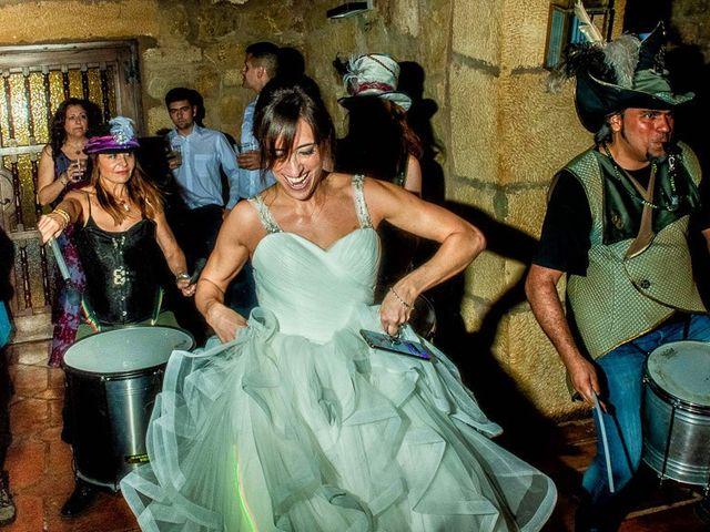 La boda de Fernando y Andrea en Siguenza, Guadalajara 111