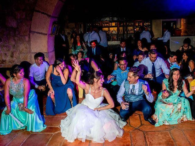 La boda de Fernando y Andrea en Siguenza, Guadalajara 115