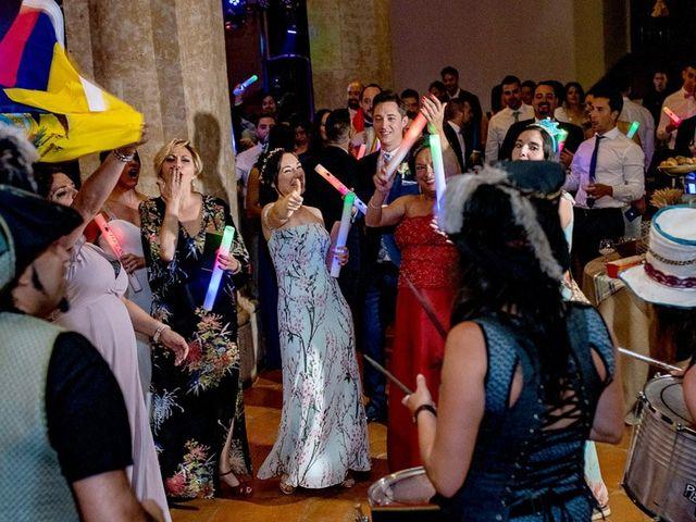 La boda de Fernando y Andrea en Siguenza, Guadalajara 116