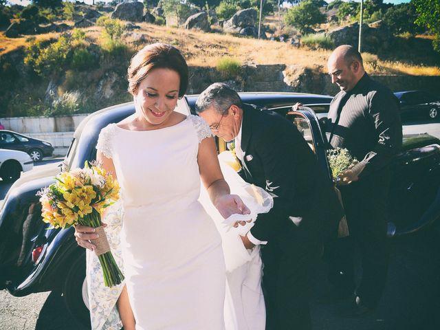 La boda de Jorge y Nazaret en Valdastillas, Cáceres 60