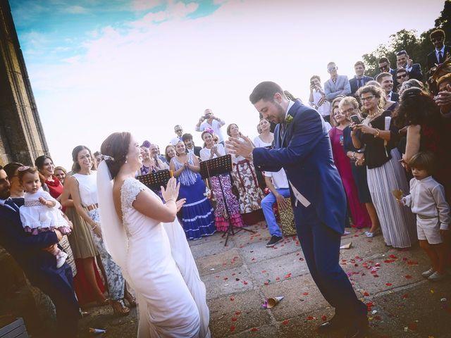 La boda de Jorge y Nazaret en Valdastillas, Cáceres 77