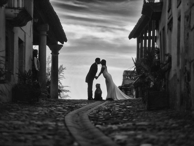 La boda de Jorge y Nazaret en Valdastillas, Cáceres 121