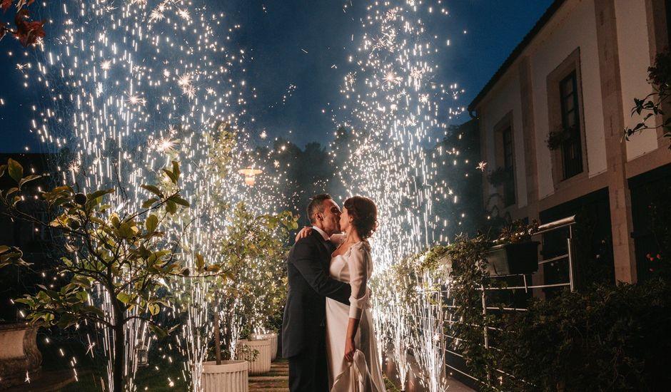 La boda de Oscar y Laura en Santiago De Compostela, A Coruña